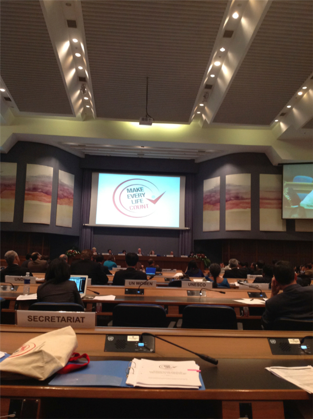 CRVS-at-conference-hall