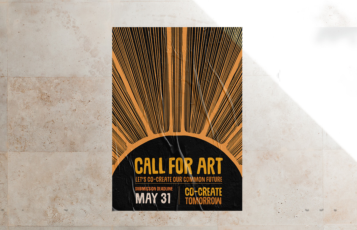 call-for-art-poster-mock-up